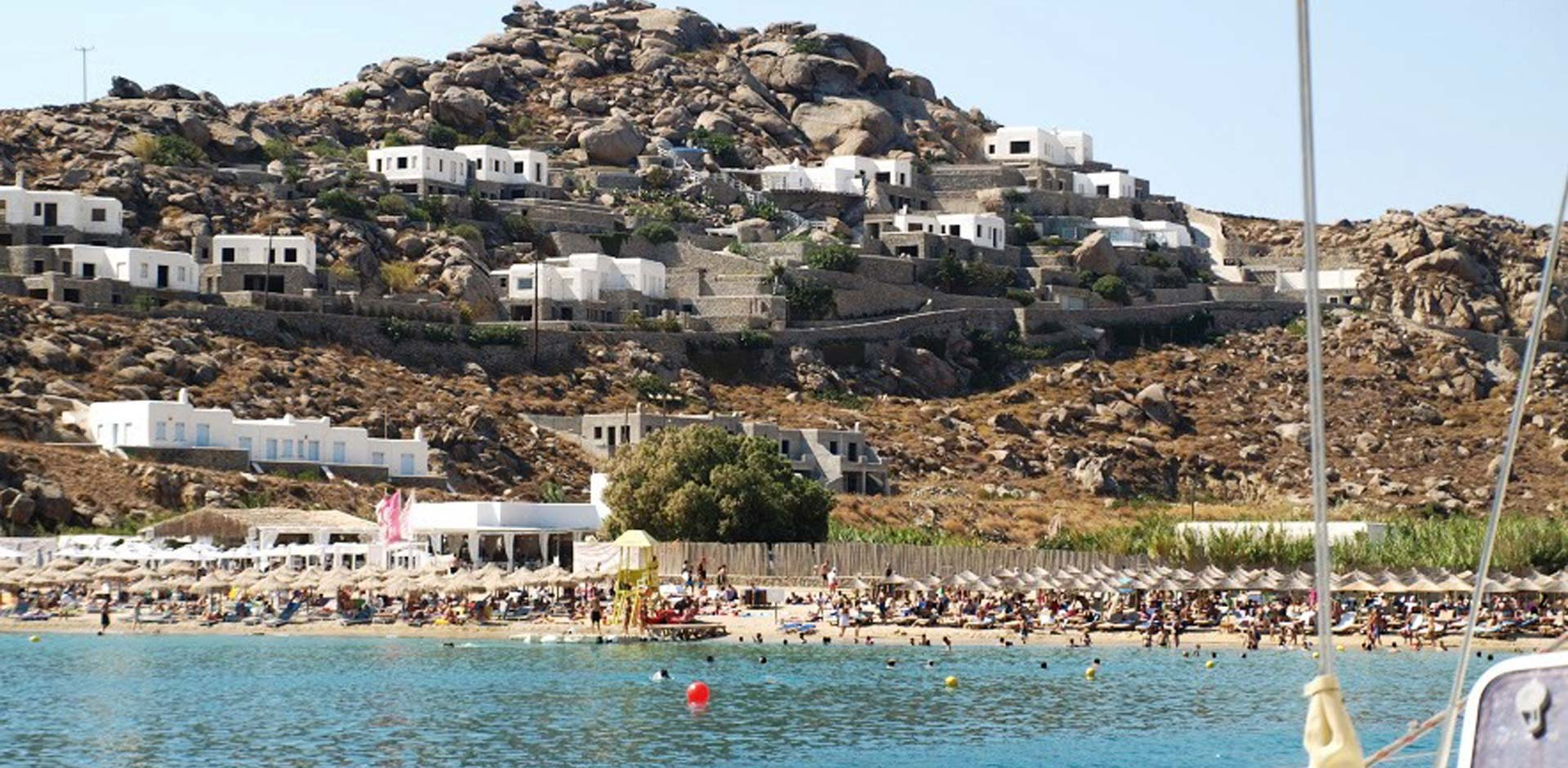 South Beaches, Rhenia and Delos Sailing Cruise