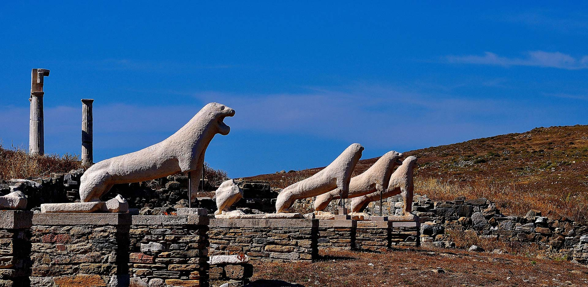 Superior Cruise to Rhenia & Guided Tour of Delos