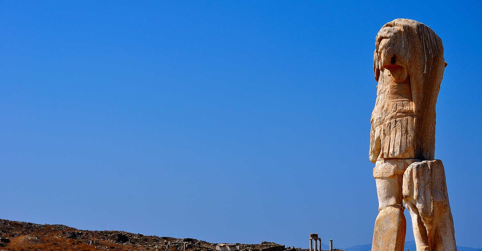 Combo Cruise to Rhenia & Guided Tour of Delos